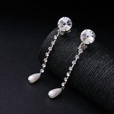 Antique Gold Versatile Design Aventine Convertible Pearl Drop Earrings