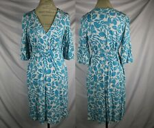 Lilly Pulitzer Blue Leaves Butterflies Dress Size XS