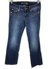 American Eagle Slim Boot Stretch Womens Jeans Dark Tag 6 Reg Actual Size 31x31
