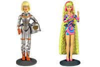 """Worlds Smallest Barbie Series 2 - Totally Hair & Astronaut 3"""" (2 Barbie's)"""
