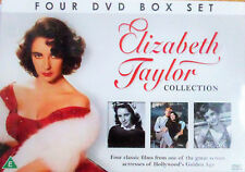 Elizabeth Taylor Collection - 4 DVD Box Set - Brand New and Sealed