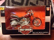 -Maisto 2000 Harley Davidson #09 Series FXSTD Softail Deuce