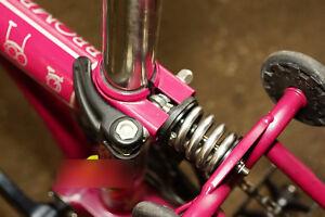 J&L Titanium/Ti Rear Coil Spring/Suspension Shock&Damper fit Brompton-5 Colors