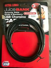 USB Charging Cable For Samsung Nokia Kindle & Blackberry 3 Metres Extra Long