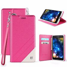 For Motorola Moto G5 Plus Phone Case Hybrid PU Leather Wallet Pouch Flip Cover