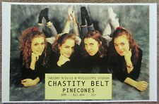CHASTITY BELT Gig POSTER Portland Oregon Sept 2015 Time To Go Home Concert