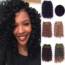 Synthetic curly hair extensions wave bundle ebay jumpy wand curl crochet braid hair extensions jamaican bounce curly twist hair pmusecretfo Images