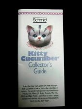 2 Schmid Kitty Cucumber Collectors Guides 1991
