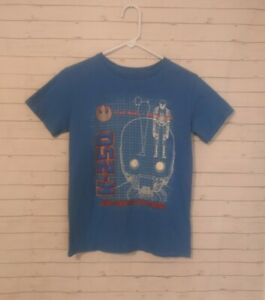 Youth Boy's Disney Store Blue Star Wars Rogue One Graphic Tshirt, Size XL (14)