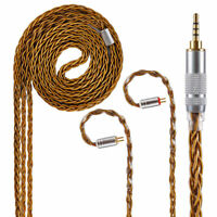 Yinyoo 8 Core Pure Silver Earphone Cable 7N Upgraded 2.5mm Balanced Replace Cord