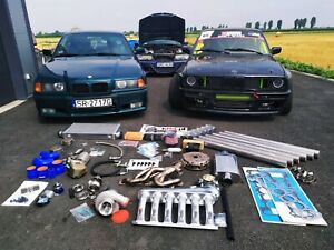 TURBO KIT max options stock BMW E36 E30 E34 M52 M50 2.5 2.8 STAGE 2 TURBOKIT k64