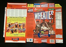 Lot of 12 Michael Jordan & Tiger Wheaties 75th Anniversary Factory Issued Flats