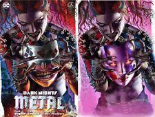 DARK NIGHTS METAL 6 COMICXPOSURE GREG HORN BATMAN HARLEY WHO LAUGHS A B VARIANT
