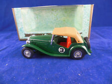 Matchbox Yesteryear Y8 1945 MGTC in British Racing Green Issue 2