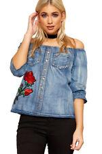 Hip Length Boho Regular Size Tops & Shirts for Women