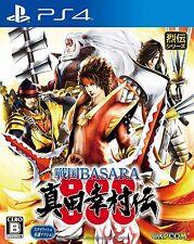 Used PS4 Sengoku BASARA Sanada Yukimura den PlayStation4 Japan Import Official