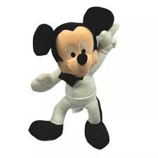 """Disney Sega Mickey Mouse Disco 1970's Style Plush 14"""" Stuffed Animal Toy"""