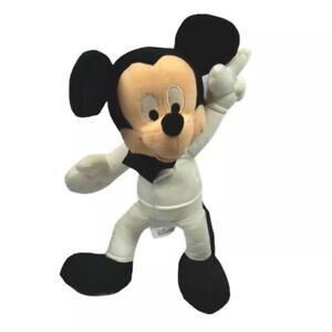 Disney Sega Mickey Mouse Disco 1970's Style Plush 14in Stuffed Animal Toy