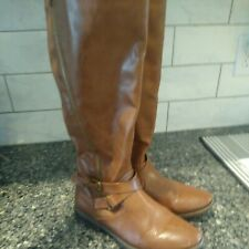 Rampage Brown Ladies Boots Size 9M, Great Used Condition