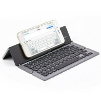 Aluminum Folding Wireless Blueteeh 3.0 Keyboard Compatible  IOS, Android