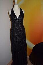 Abendkleid Kleid mit Pailletten Gr. 34 von Apart