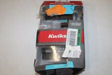 Kwikset Halifax Venetian Bronze Bed/Bath lock Model #155HFL SQT 15 6AL RCS