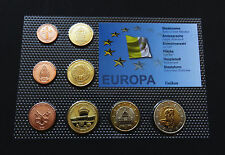 VATICAN 2009 SET EURO COINS PATTERN SPECIMEN COLLECTION ESSAI PAULUS LOT SCARCE