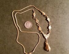 Natural Gold Nugget Necklace From Hope Alaska.  Lot #1264