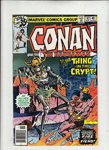Conan the Barbarian #92 (Marvel 1978) Roy Thomas FN/VF