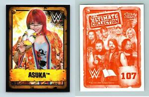 Asuka #107 WWE The Ultimate Collection 2017 Topps Sticker
