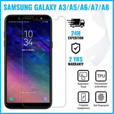 Screen Protector LCD PET Soft Foil Film Samsung Galaxy A3 A5 A7 2017  A6 A8 2018