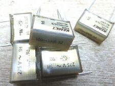 5x 100nf + 330R X2 RC suppression network capacitor 0.1uf Kemet rifa