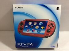 VERY GOOD! PS Vita PCH-1000 ZA03 Red Handheld Video Game Console from JAPAN