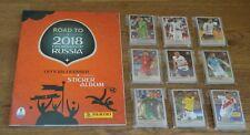 Panini Road to World Cup Russia WM 2018 komplett alle 480 Sticker + Leeralbum