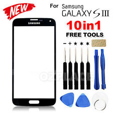 Black For Samsung Galaxy S3 i9300 Screen Replacement Front Outer Glass Lens