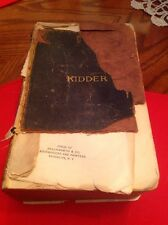 Book ARCHITECTS' AND BUILDERS' POCKET-BOOK by F. E. Kidder 14th Edition 1904