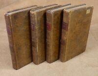 HISTOIRE DE GIL BLAS DE SANTILLANE par LESAGE - 4 VOL - STEREOTYPE D'HERHAN 1805