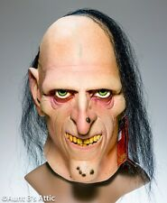 "Dark Horse Comics Licensed ""Uncle Creepy"" Full Head Latex Mask With Hair"