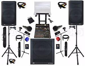Professional Karaoke System Profesional dj system Karaoke laptop system cables