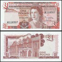 Gibraltar | 1 Pound | 1979 | P.20b | Prefix - K | UNC
