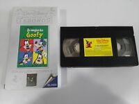 Lo mejor de Goofy - VHS Tape Kassette WALT DISNEY Spanisch