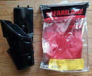 Safariland 295-383-92OBL Glock 17 19 Mid Ride Lvl 2 Retention Left Hand 2.25 Blt