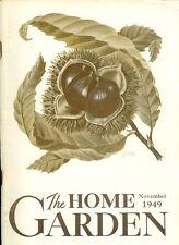 1949 The Home Garden Magazine - November: African-Violets/Pyrethrum/Asparagus