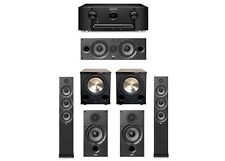 ELAC Debut 5.2 System with 2 F6.2 Tower Speakers, 1 C6.2 Center Speaker, 2 B6.2