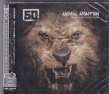 50 CENT ANIMAL AMBITION RARE 14 TRACK JAPAN CD