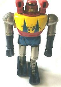 Vintage Japanes Popy Multicolor Shogun Warriors Poseidon Chogokin Diecast Figure