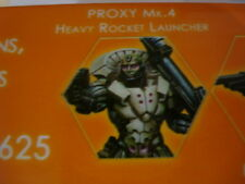 Infinity Posthumans Proxy MK4 Heavy Rocket Launcher Aleph metal new