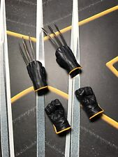Hot Toys MMS187 X-Men The Last Stand Wolverine 1/6 Glove hands x4