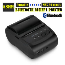 Compact Mobile Bluetooth USB Wireless 58mm 90mm/s Thermal Dot Receipt Printer UK