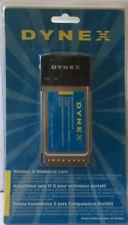 New Dynex PCMCIA CardBus 802.11g Wireless-G Wireless Notebook Card DX-WGNBC